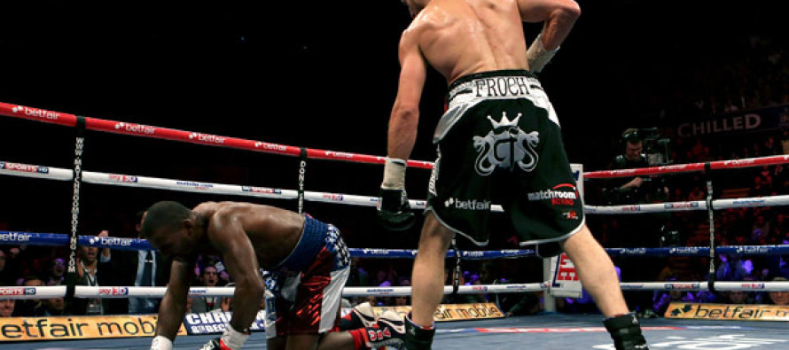 Froch Takes Mack Out in 3 rounds
