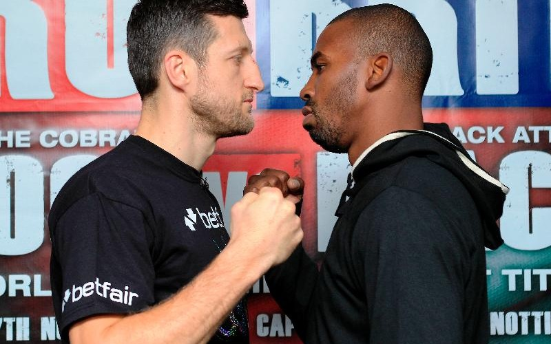 Froch Focused On Mack, Not Lookin Ahead To Bute