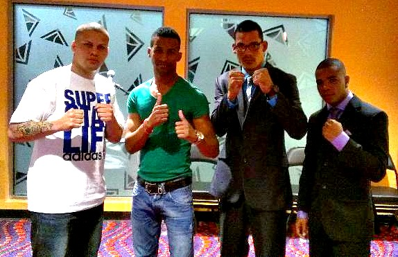 "Jonathan ""Mantequilla"" Gonzalez and Rances ""Kid Blast"" Barthelemy Conference Quotes"