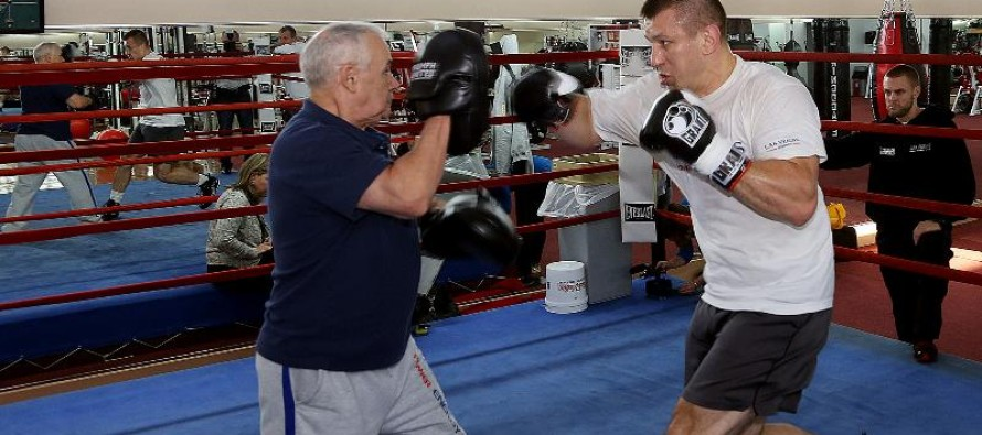"MEDIA WORKOUT WITH TOMASZ ""GORAL"" ADAMEK"
