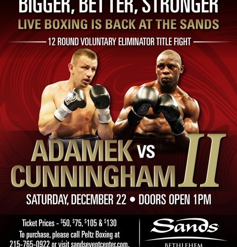 """BIGGER, BETTER, STRONGER"" ""PICK-EM"" PRELIMINARY BOUTS FILL DECEMBER 22nd CARD"