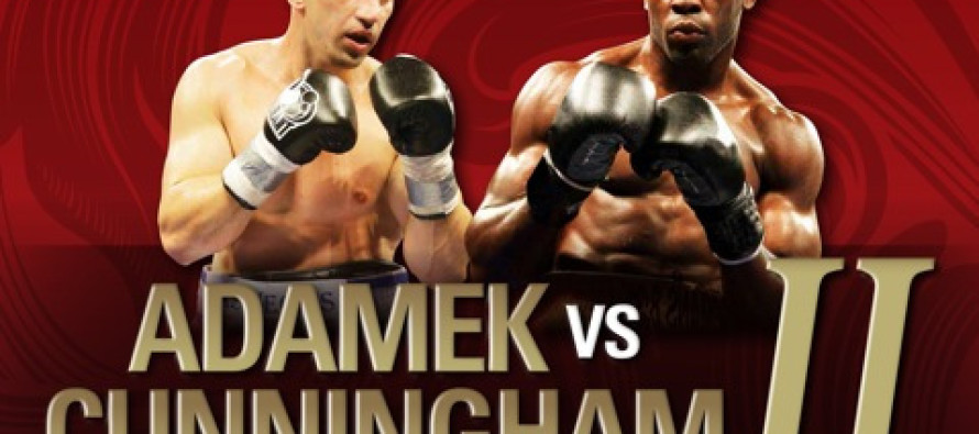 Adamek Cunningham Weight and Photos