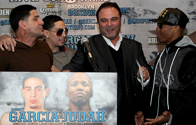 Garcia Vs Judah: The Battle To Be King of Barclays