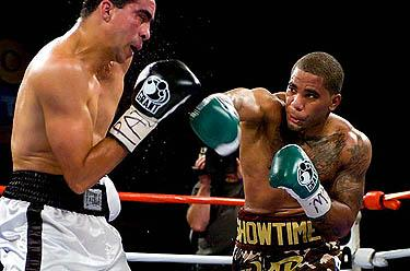CURTIS STEVENS FIRES BACK AT AYALA