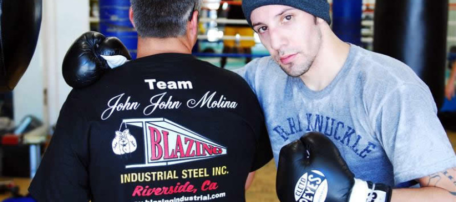 John Molina Looks to Rebound from the DeMarco Loss