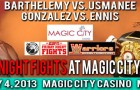 Barthelemy Co-Promoter Leon Margules Says, &#8220;What Controversy?&#8221;