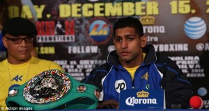 VIRGIL HUNTER: AMIR KHAN READY TO FIGHT DANNY GARCIA