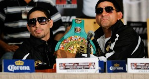 Angel Garcia Believes His Son Danny Is the Man to Beat at 140