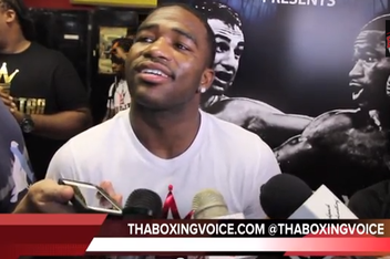 Broner: Malignaggi is a Stepping Stone To Pay-Per-View Fights