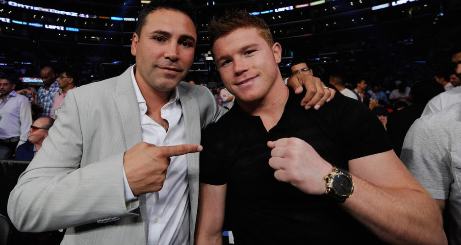 Oscar De La Hoya: 'Floyd Mayweather Couldn't Even Be Called the Silver Boy'