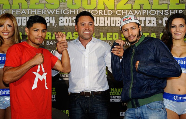 Preview To The Prelude: Mares and Santa Cruz Face Challenges From Gonzalez and Terrazas Before A Possible Showdown