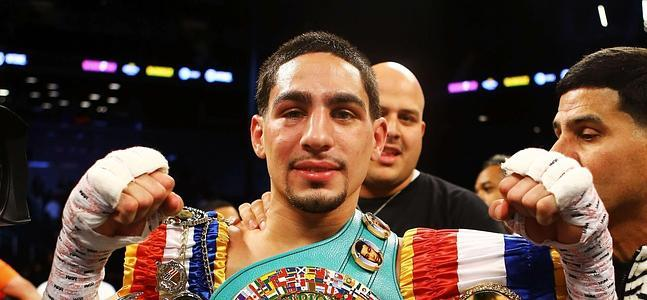 "Danny Garcia: ""After this Matthysse fight, I basically beat everybody at 140, I'll go up to 147."""