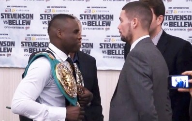 Can Bellew Upset Stevenson?