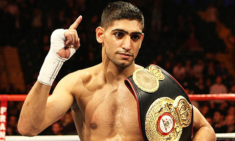 AMIR KHAN HELPS RAISE £83,000 FOR TYPHOON HAIYAN APPEAL
