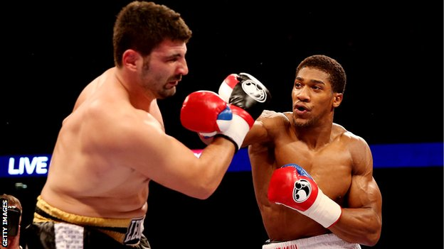 Joshua Excited To Return Back To The Ring