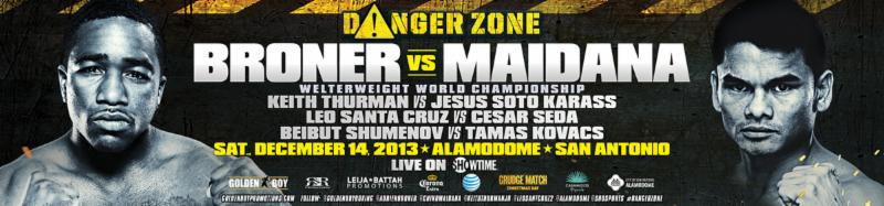 Showtime Broner-Maidana Fight Week Coverage