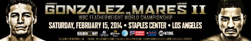 The Rematch: Marez-Gonzalez 2 Ticket Info