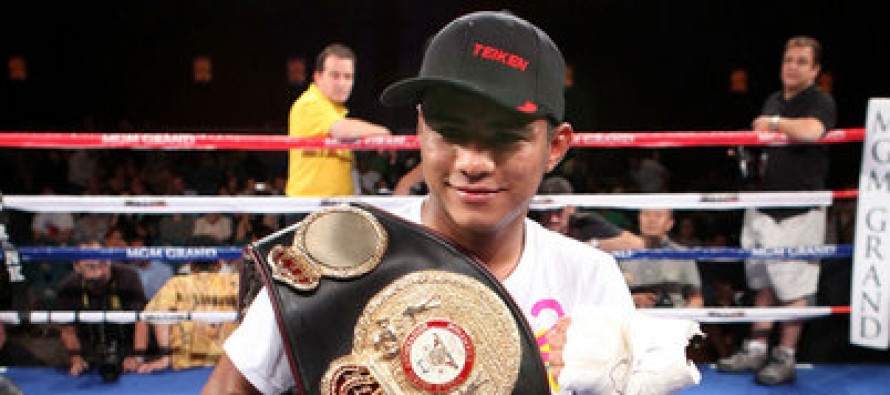 Roman Gonzalez Enters WBO's Flyweight Rankings At #2