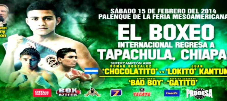 Roman Gonzalez Stops Juan Kantun In Mexico, Prepares For A Busy Year
