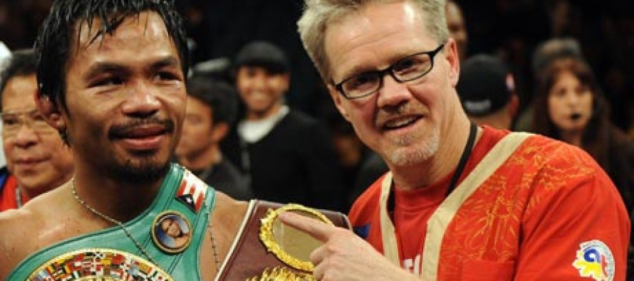 Freddie Roach: 'Floyd Mayweather Has to Fight Manny Pacquiao'