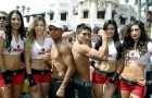 Weights From Chiapas Mexico: Roman Gonzalez 112.5, Juan Kantun 113