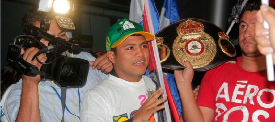 Roman Gonzalez Back In The Gym To Prepare For April Bout
