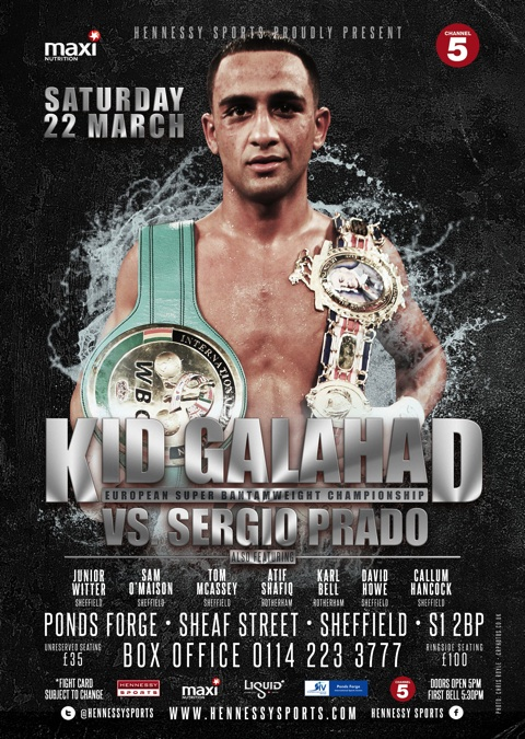 KID GALAHAD TO FIGHT FOR EUROPEAN TITLE