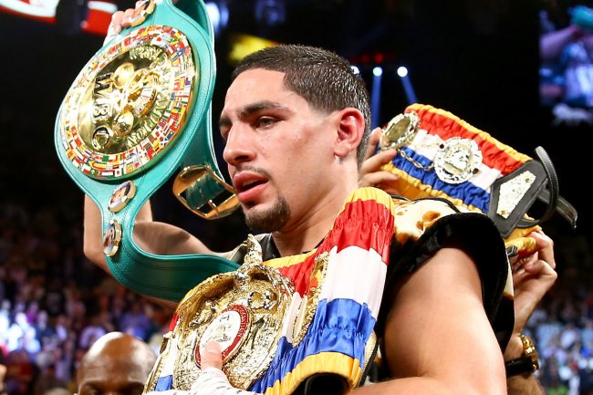 Danny Garcia On His Future at 140 and a Fight With Lamont Peterson