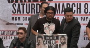 Angulo Acknowledges His Opportunity and Feels He's Earned It
