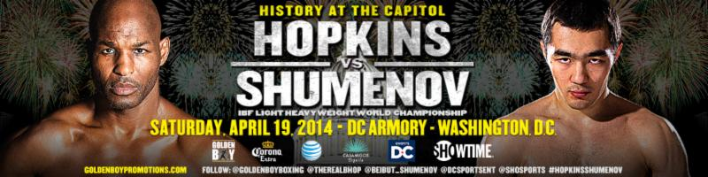 Hopkins-Shumenov, Quillin-Konecny Set For April 19th in DC