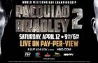 Pacquiao Arrives in La Tonight To Finish Camp For Bradley Rematch