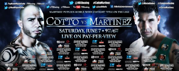 Cotto-Martinez Puerto Rico Presser To Be Streamed Live Today