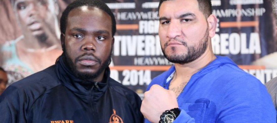 Stiverne Arreola Los Angeles Press Conference Photos