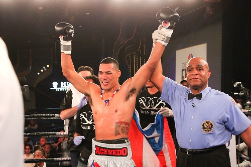 Roberto Acevedo Makes Main Events Debut 4/4