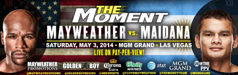 BoxNation To Televise Mayweather-Maidana