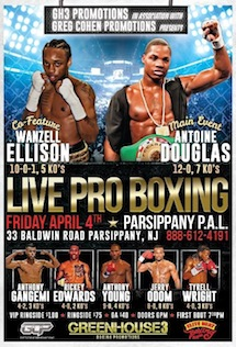LIVE Boxing this weekend GFL.tv Great Action to Experience