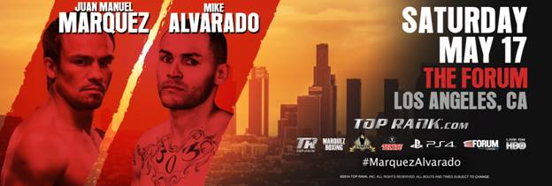 Marquez-Alvarado Tickets on Sale Today