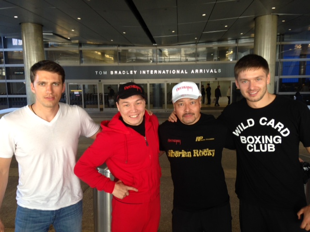 Photos: Provodnikov Arrives in LA To Train For June 14th Bout