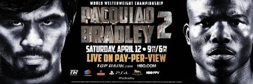 PacBradley 2 Replay on HBO Saturday