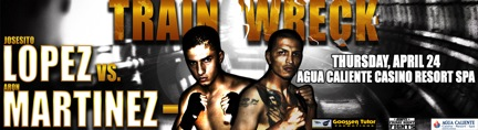 Josesito Lopez vs. Aron Martinez Headlines April 24th ESPN's Thursday Night Fights