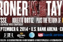 CINCINNATI HOMECOMING FOR ADRIEN BRONER SET FOR SEPTEMBER 6