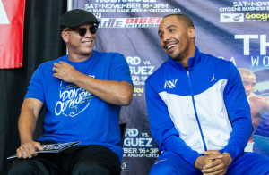 Andre Ward v Edwin Rodriguez - News Conference