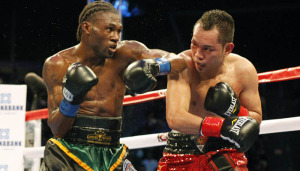 Nonito Donaire (right) Nicholas Walters (left)