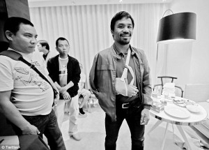Manny Pacquiao Injured