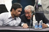 Bob Arum claims April 9 fight to be Pacquiao's last.