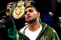 """Khan says it was hard being motivated """"fighting people like Algieri;"""" no hydration clause vs. Canelo """"a challenge"""""""