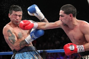 Danny Garcia (right) Lucas Matthysse (left)