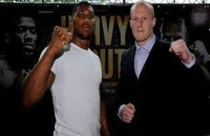 Gary Cornish- Anthony Joshua