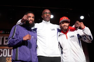 Lamont Peterson, Anthony Peterson, Barry Hunter,