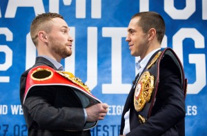 Scott Quigg(right) Carl Frampton(left)